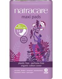 Pharma5avenue Serviettes périodiques normales Lot de 14 Natracare - lot de protections hygiéniques très absorbantes