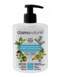 Cosmo Naturel Baume démêlant Karité Verveine Romarin Citron 500 ml