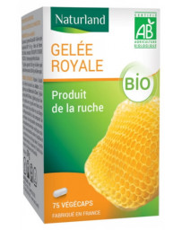 Naturland Gelée royale bio 75 gélules tonus vitalité Pharma5avenue