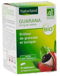 Naturland - Guarana bio 75 gélules végécaps