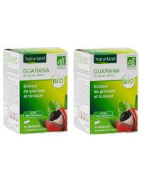 Naturland - Guarana bio - Promo de 2 boîtes de 75 gélules végécaps