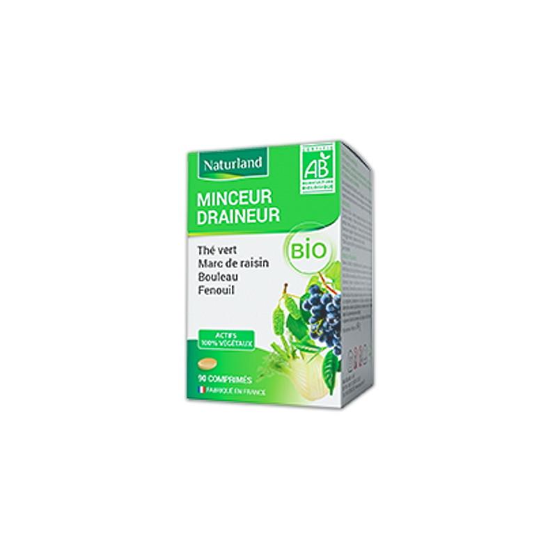 Naturland - Minceur Draineur Anti-Capitons - Comprimés Bio Pharma5avenue