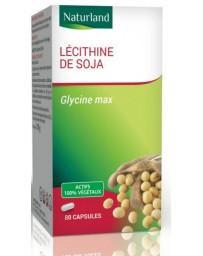 Naturland - Lécithine de soja - 80 capsules mémoire cardiovasculaire Pharma5avenue