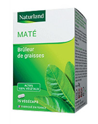 Naturland - Maté - 75 Gélules Végécaps