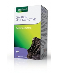 Naturland - Charbon végétal activé 150 Gélules Végécaps transit trop rapide Pharma5avenue
