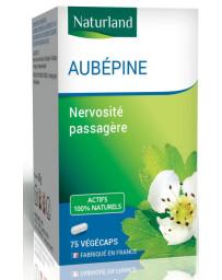 Naturland - Aubépine - 75 Gélules Végécaps nervostié sommeil Pharma5avenue
