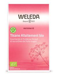 Weleda Tisane allaitement bio Fruits rouges 20 sachets