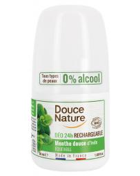 Douce Nature Déodorant à billes peaux normales Menthe 24H 50ml Pharma5avenue