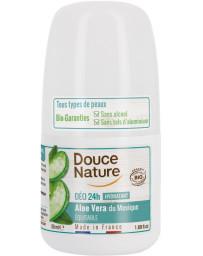 Déodorant à billes peaux sensibles 50ml Douce Nature - produit de soin pour le corps