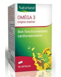 Naturland - Omega 3 - Huile de poisson - 90 capsules EPA DHA Pharma5avenue