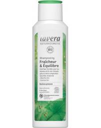 Shampoing fraicheur et anti cheveux gras 250ml Lavera - produit nettoyant pour les cheveux