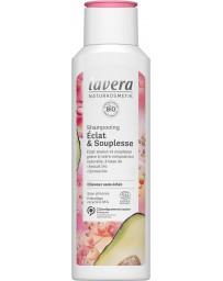 Shampoing éclat et souplesse 250ml Lavera - cosmétique biologique