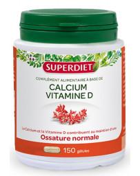 Super Diet Calcium Vitamine D 150 gélules marines minéralisation et immunité Pharma5avenue