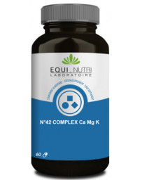 Equi Nutri Calcium Magnesium Potassium 60 gélules végétales équilibre acido basique pharma5avenue