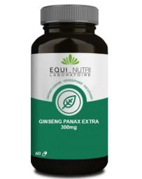 Equi Nutri Ginseng Panax bio 60 gélules 300mg 120mg de ginsénosides Pharma5avenue