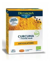 Dietaroma Curcuma 6000 Poivre Noir - 60 comprimés