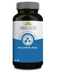 Equ Nutri Capital Peau Complexe N23 60 gélules