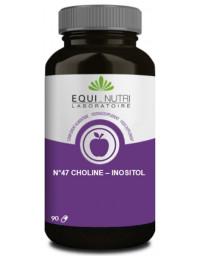 Equi Nutri Choline Inositol 90 gélules végétales foie lipides Pharma5avenue