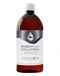 Catalyons - Argent colloidal - 20 PPM - 1000 ml