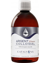 Catalyons - Argent colloidal - 20 PPM - 500 ml
