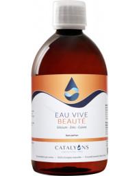 Catalyons Eau vive Beauté de la Peau 500 ml Recharge zinc cuivre silicium Pharma5avenue
