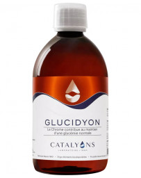 Catalyons - GLUCIDYON - Oligo-éléments - 500 ml