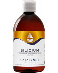 Catalyons - SILICIUM - acide orthosilicique Oligo-éléments 500 ml