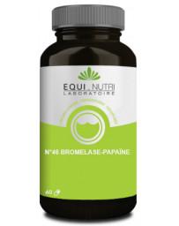 Equi Nutri Bromelase Papaine 60 gélules végétales enzymes bromélaine Pharma5avenue