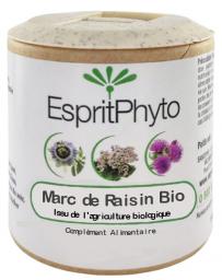 EspritPhyto - Marc de Raisin - 90 Gélules