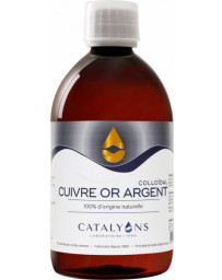 Catalyons - Cuivre Or Argent - 500 ml