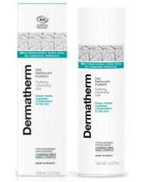 Dermatherm Gel nettoyant Purifiant peaux mixtes et grasses 150 ml dermo-cosmétique sans conservateurs Pharma5avenue