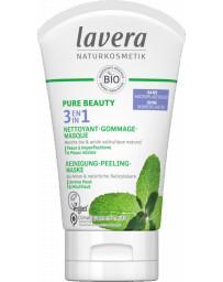 LAVERA 3 en 1 Nettoyant Gommage Masque 125ml, crème de soin généraliste pharma5avenue