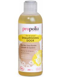 Propolia Shampooing Doux Bio être de mèche Miel et Bambou 200ml brillance et volume Pharma5avenue