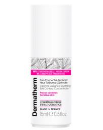 Dermatherm Soin concentré apaisant yeux tolérance optimale 15 ml peaux sensibles anti rougeurs et anti irritations