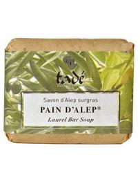 Tadé Savon d'Alep surgras Laurier 100 gr savon peaux sensibles Pharma5avenue