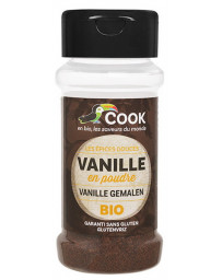 Cook Vanille bio poudre 10 gr épices des îles pour desserts Pharma5avenue