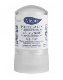 Pierre d'Alun Naturelle Stick 60 gr Alepia - déodorant naturel Pharma5avenue
