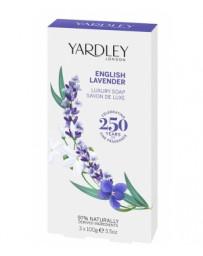 Yardley Coffret 3 savons English Lavender 3 x 100gr Lavande vraie Pharma5avenue