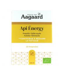 Aagaard Api' Energy 10 ampoules de 10ml