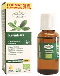 Naturesun'Aroms Huile essentielle de Ravintsara Flacon compte gouttes 30ml ravintsara bio Pharma5avenue