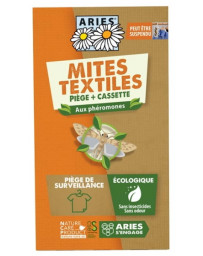 Aries Piège à mites textile Mitbox,1 pièce anti mites textiles Pharma5avenue