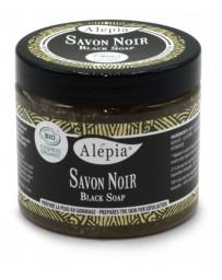 Savon Noir Black soap 200ml Alepia - produit d'hygiène corporelle