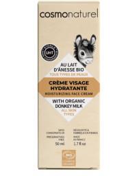 Cosmo Naturel Crème de jour au lait d'ânesse toutes peaux 50 ml anti-âge Pharma5avenue