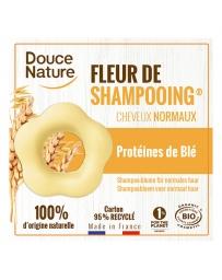 Douce Nature Fleur de Shampooing solide cheveux normaux Sauge Argile jaune 85gr shampoing doux solide Pharma5avenue