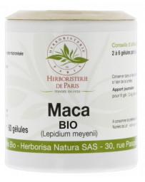Herboristerie de paris Maca Racine Bio 500mg 60 gélules ménopause libido Pharma5avenue