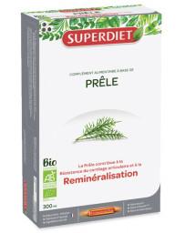 Super Diet Prêle Bio 20 ampoules de 15 ml silicium organique fer Pharma5avenue