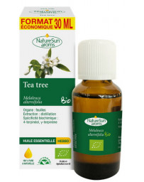 Naturesun' Aroms Huile essentielle de Tea Tree bio Flacon compte gouttes 30ml aromathérapie Pharma5avenue