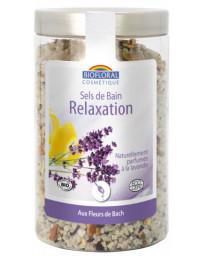 Biofloral Sels de bain Relaxation Silice et Fleurs de Bach 320g sérénité et plénitude Pharma5avenue