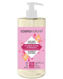 Cosmo Naturel Gel intime Ultra doux calendula aloe vera 500ml toilette intime bio Pharma5avenue