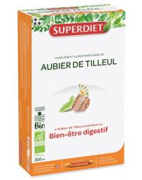 Super Diet Aubier de Tilleul Bio 20 Ampoules de 15 ml, diurétique, dépuratif, draineur, pharma5avenue